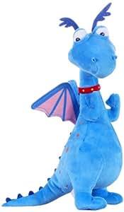 Docteur la peluche toufy le dragon bleu peluche 25 cm - Jouet doc la peluche ...