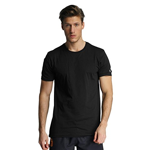 New Era Uomo Maglieria / T-shirt 2er Pack Pure Nero