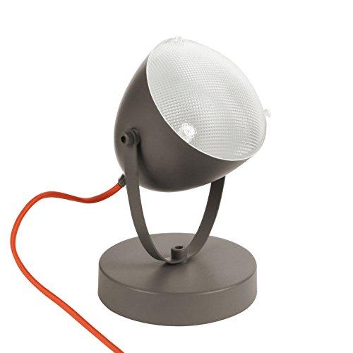 Tischlampe Spot Wandlampe Motorrad-Scheinwerfer-Design - grau