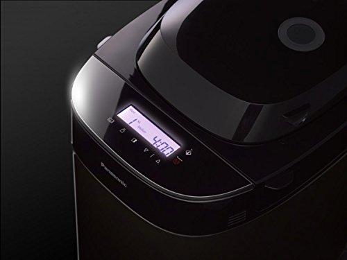 Panasonic SD-ZX2522KXG 550W Negro - Panificadora (Negro, Pan francés, Pan sin gluten, Masa para pizza, Pan de centeno, Oscuro, Luz, Medio, Tocar, 60 min, 550 W)