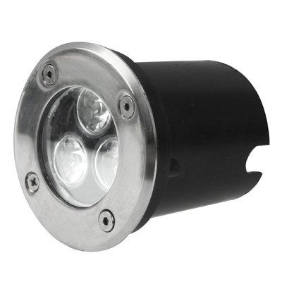 Klassische Zwölf-licht (Garmol 3W Buried Light, weißes Licht, wasserdichtes 3-LED-Licht Klassische Form, DC 12V (Farbe : Color1))