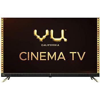 Vu 108 cm (43 inches) 4K Ultra HD Cinema Android Smart LED TV 43CA (Black) | With 40W Front Soundbar