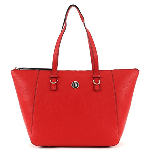 TOMMY HILFIGER TH Core Tote CB Tommy Navy / Tommy Red -