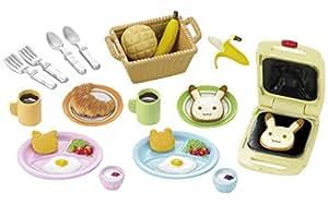 Sylvanian Families - 2956 - Set Petit Dejeuner - Poupées et Accessoires