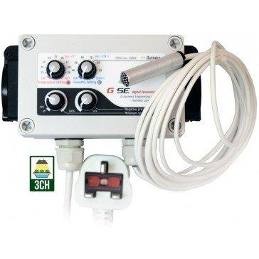 Contrôleur de Température / Humidité et vitesse Basse Pression GSE (GSE-3)