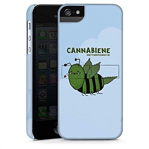 Apple iPhone X Silikon Hülle Case Schutzhülle DirtyWhitePaint Fanartikel Merchandise Cannabiene Premium Case StandUp