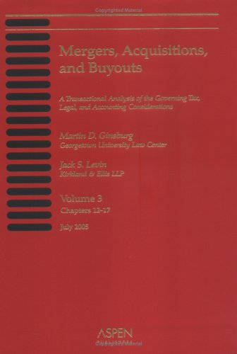 Mergers, Acquisitions, and Buyouts 2005