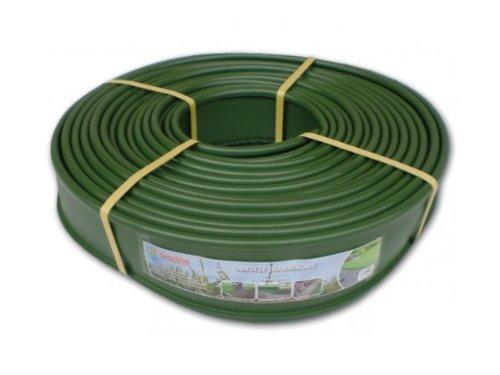 Bradas OBKG18125 Rasenkante mit integriertem Kanal für Wasser- und Stromleitungen, 18 m x 12,5 cm, grün, 60 x 60 x 12,5 cm