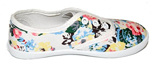 BTS, Mary Jane basse bambine Multicolore (bianco)