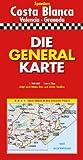Die Generalkarten Spanien, Costa Blanca (Marco Polo Regional Maps: Spain) - Deutsche Shell Ag