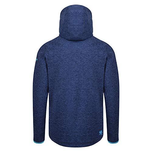 418YYZqDX L. SS500  - Dare 2b Men's Ellevate Half Zip Kangaroo Pocket Hooded Fleece