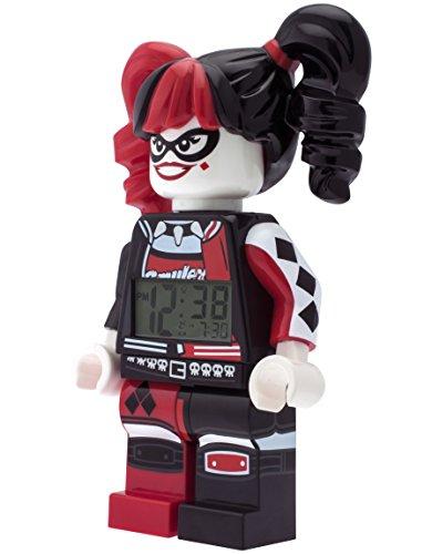 comprare on line LEGO Batman Movie 9009310 Sveglia per bambini minifigure Harley Quinn prezzo