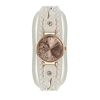 Kahuna AKLS-0378L – Reloj de Pulsera para Mujer (Oro Rosa y Crema)