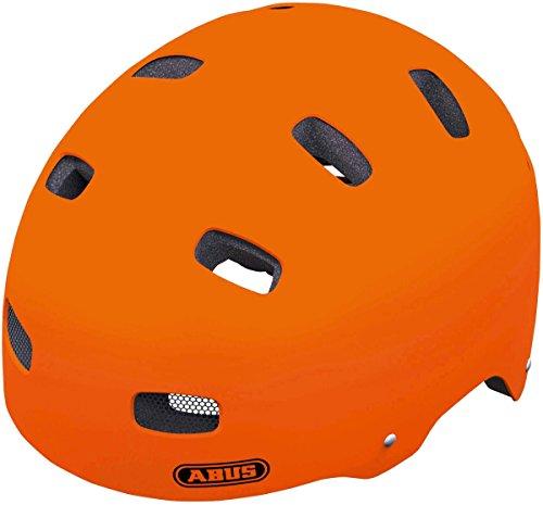 Abus - Casco da ciclismo, colore arancione (signal orange), taglia 48-55 cm