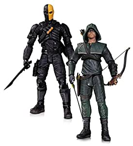 DC Comics Collector jouet – Arrow – Oliver Queen et Deathstroke 17,8 cm Action Figure 2 Playset