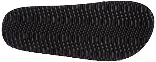 flip*flop  heaven metallic, Sandales pour femme - Multicolore - Mehrfarbig Multicolore - Mehrfarbig (011  black/silver)