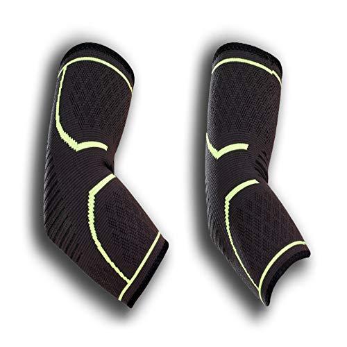 Ellenbogenbandage - Sport Armbandage zur Stützung der Ellenbogen beim Volleyball, Fitness. Bandage zur Entlastung bei Tennisarm.