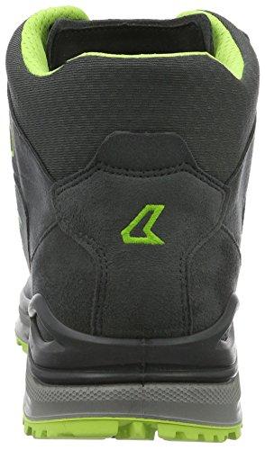 Lowa Innox Evo Gtx Qc, Chaussures de Randonnée Basses Homme Gris (graphit/limone)