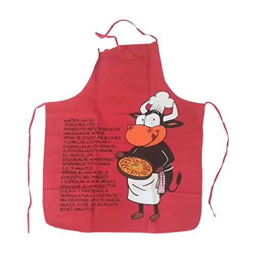 Cisne 2013, S.L. Delantal Cocina Antimanchas Unisex