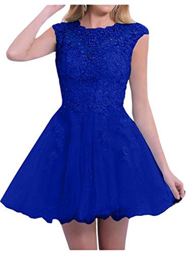Victory Bridal - Robe - Trapèze - Femme bleu bleu bleu roi