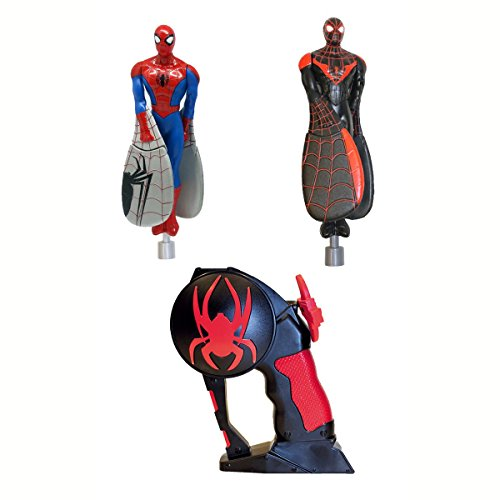BANDAI - 84591 - Maxi Pack - Flying Heroes 2 Spiderman - Rouge