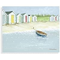 On The Beach Front Canvas Print by Anthony Waller