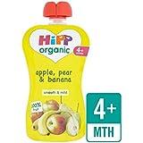 HiPP biologique seulement Fruits Pomme, Poire et banane Sachet 100g–
