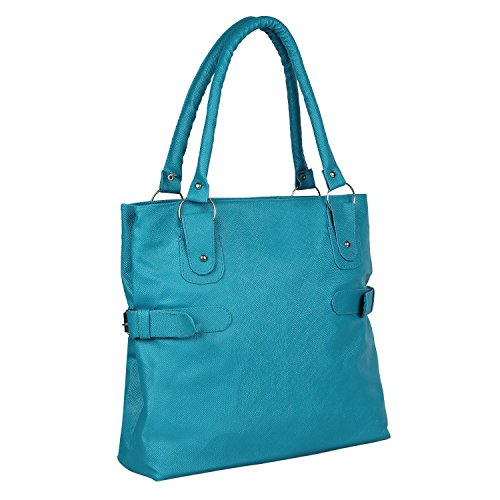 NIYANK PU Leather Women\'s Stylish Shoulder Bag (Sky blue)