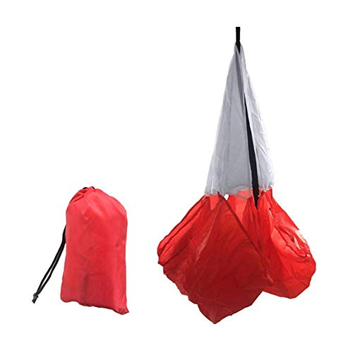 Honsin Speed Training Resistance Parachute Agility Training Umbrella Resistance Rope Running Chute -