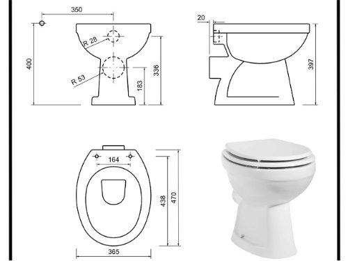 Stand Tiefspül Dusch Wc Taharet Bidet Taharat Intimdusche TP310
