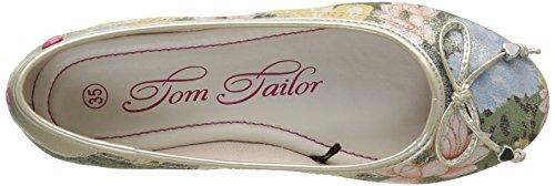 Tom Tailor 9672005, Ballerines fille Multicolore (Rose)
