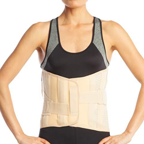ArmoLine Unteren Rücken Lendenwirbelstütze Korsett, lumbosakral Unterstützung
