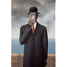 Son of Man New Apple Rene Magritte Parody Art Humor Poster 30x46 cm