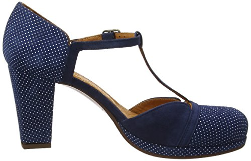 Chie Mihara Sayo, Salomés Femme Blue (punti Navy-ante Pizarra)