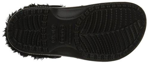 Crocs Baya peluche foderato Clog Black/black