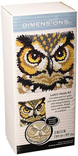 Crafts Owl Latch Hook Kit, 12