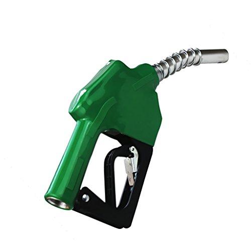 MagiDeal Combustible Gasolina Diesel Auto Delivery Pistola Dispensador de Manguera de Boquilla - Verde