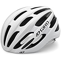 Giro, Casco da ciclismo Foray 15, Bianco (Matte White/Silver), 55-59 cm