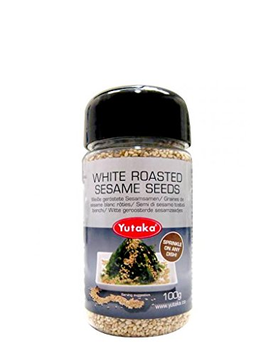 YTK Gebratene weiße Sesam-Samen 100g (Sushi Wanne)