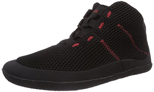 Sole Runner T1 Allrounder II, Baskets hautes mixte adulte Noir - Schwarz (black/red 05)