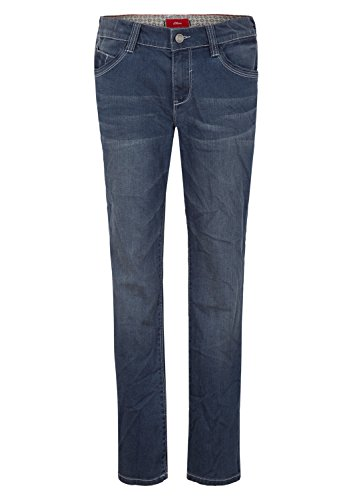 s.Oliver RED LABEL Junior Jungen Pete: Jeans mit Wascheffekt dark blue denim 170.SLIM (Label Jungen Red)