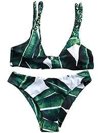 Trajes de baño para mujer,RETUROM Las hojas de las mujeres para el traje de baño del traje de baño de la cuerda