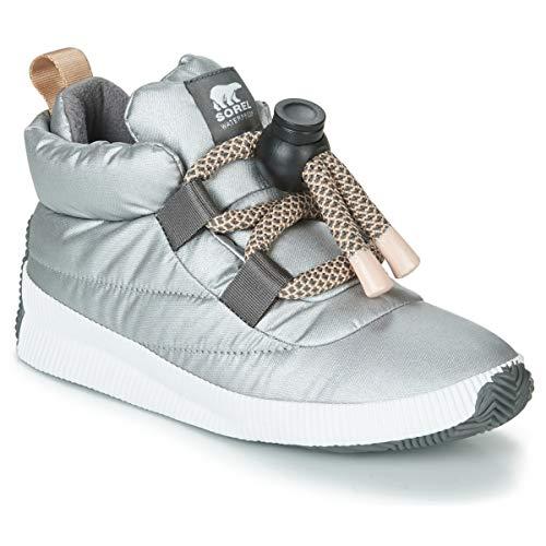 Sorel Damen Out N About Puffy Lace Walking-Schuh, Reines Silber, 42 EU