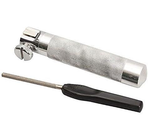 Knot Puller /& Nylon Case File Sharpener NGT Carp Coarse Fishing Hook Clamp