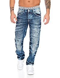 Cipo & Baxx Herren Jeans / Straight Fit Jeans Stevenage