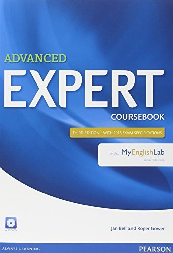 Expert Advanced Coursebook with MyLab Pack by Jan Bell (2014-05-29)