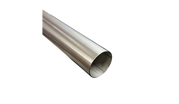 //Ø 40/mm x 500/mm 0,5/m V2/A Exhaust Tube 1.4301 Stainless Steel Pipe/