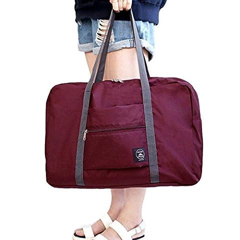 FunYoung Superleichtes Tragbares Handgepäck Faltbare Reisetasche aus