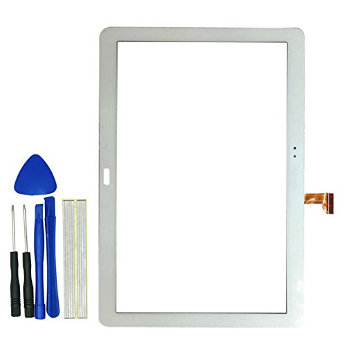 Klesti Ersatz Touch Panel Screen Ersatzteile für Samsung Galaxy Note Pro 12.2P900P901P905(Weiß)