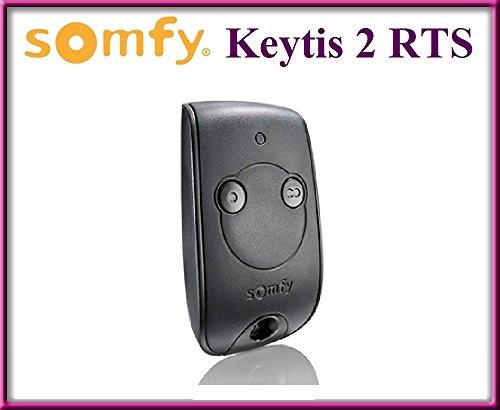 SOMFY Keytis 2 NS RTS, télécommande à 2 canaux. Top qualité ORIGINAL SOMFY télécommande pour le MEILLEUR PRIX !!!